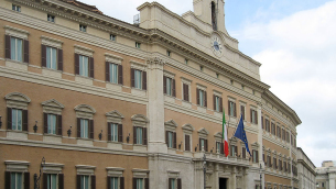 Palazzo di Montecitorio, sede della Camera dei deputati