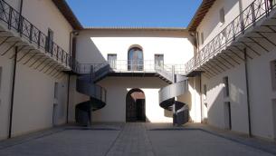L'interno del Complesso monumentale del San Giovanni a Catanzaro