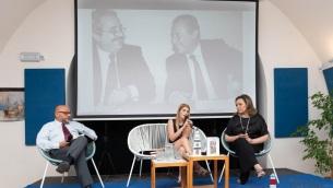 Da dx: Antonio Chieffallo, Silvia Camerino, Piera Aiello