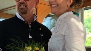 Carmelo Marzano e Caterina Egeo