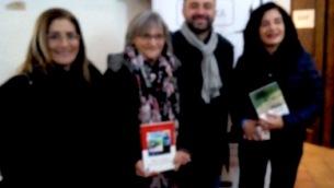 Da sinistra Teodolinda Coltellaro, Ippolita Luzzo, Gianlorenzo Franzì, Paola Abenavoli