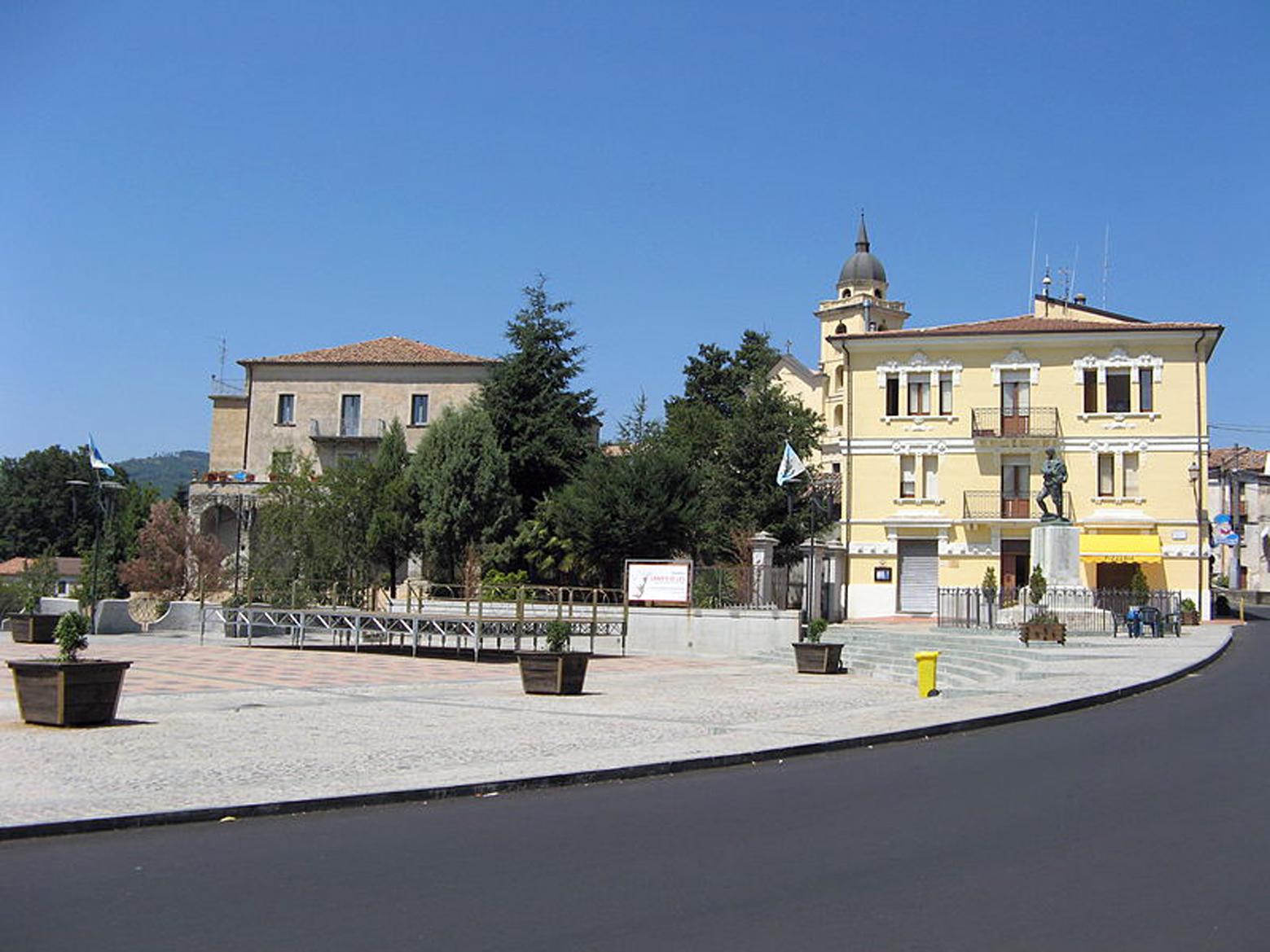 Piazza Bonini a Soveria Mannelli