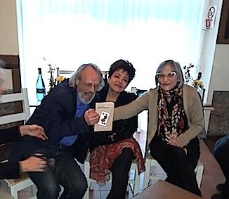 Da sx: Gavino Angius, Gianfranca Bevilacqua, Ippolita Luzzo