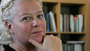 La scrittrice Judith Katzir