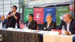 L'intervento dell'assessore regionale Carmen Barbalace