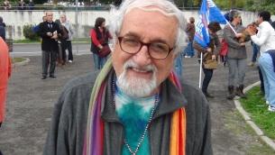Padre Alex Zanotelli, missionario comboniano