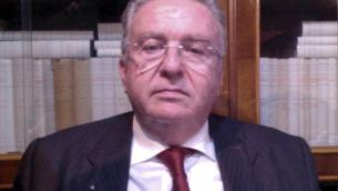 L'avvocato Basilio Perugini, presidente del Comitato Lamezia 4 gennaio 2018