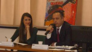 Rossella Tallerico e Carlos Cherniak