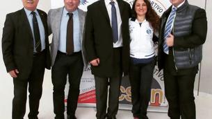 Da sinistra: Sergio Servidone, Antonio Caira, Francesco Proietti, Caterina Brizzi, Francesco De Nardo