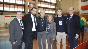Da sinistra, nella foto: Mazzocca, Montemurro, Mascaro, Astorino, Paladino e Mercuri