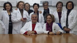 L'equipe del Servizio per le dipendenze di Lamezia Terme