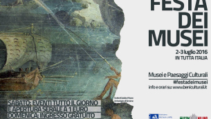 Festa dei Musei - 2 - 3 luglio 2016 - Logo MiBACT