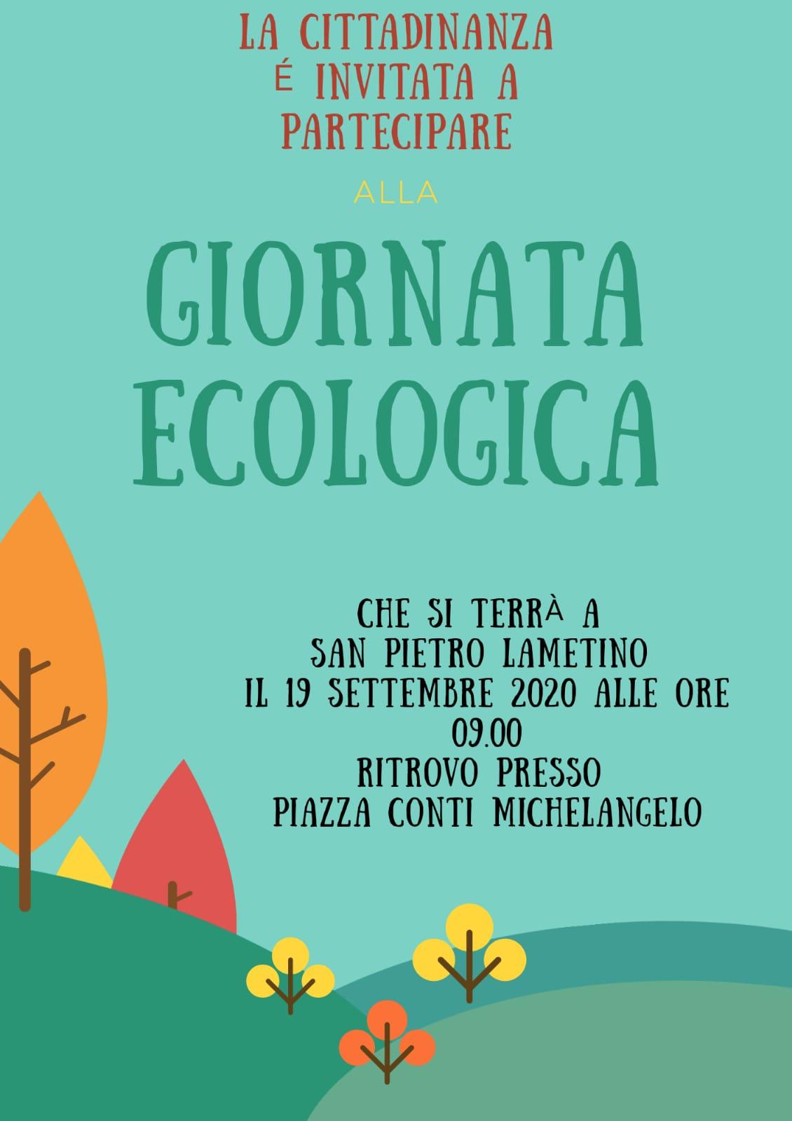 giornata-ecologica-a-san-pietro-lametino-locandina