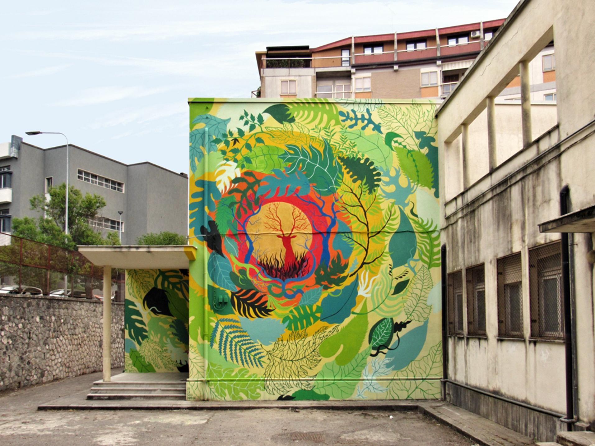 I Piu Bei Murales.Murales Di Catanzaro Tra I 20 Piu Belli Al Mondo