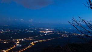 Il Golfo di Lamezia visto dal Monte Sant'Elia (Foto di Antonio Vaccaro)