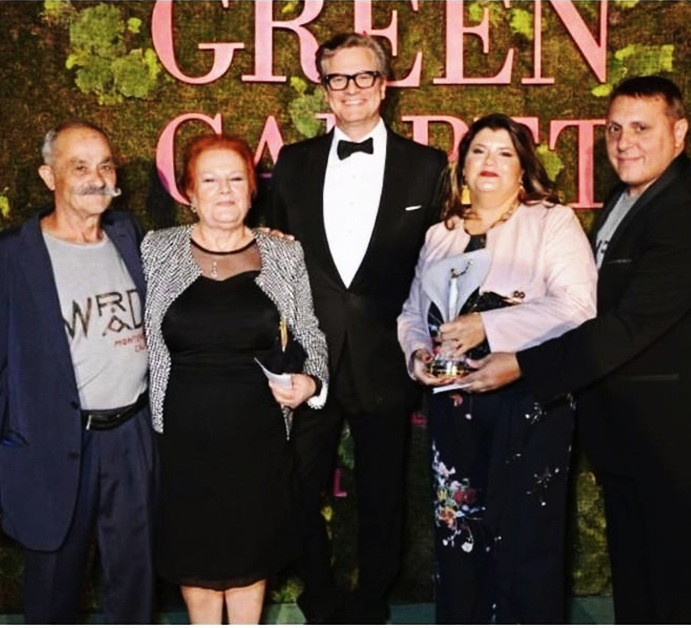 Delegazione del Comune di Monterosso con Colin Firth