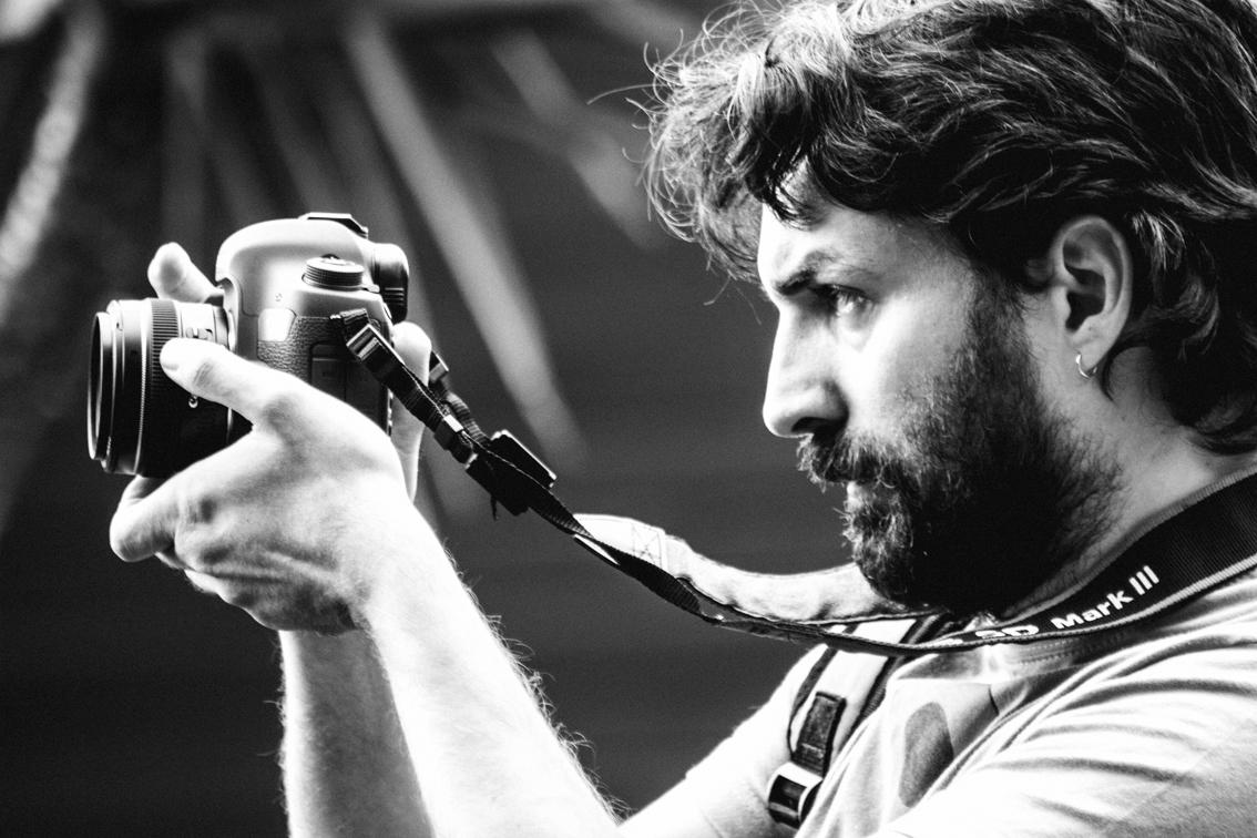 Il regista Mauro Nigro