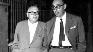 Pietro Nenni e Giacomo Mancini