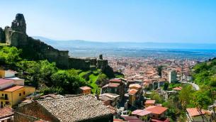Panorama di Lamezia Terme