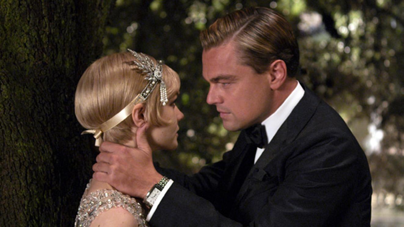 Leonardo di Caprio and Carey Mullligan in a still from The Great Gatsby