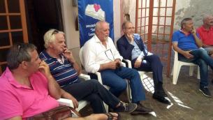 Da sinistra, nella foto: Mete, Montalto, De Biase, Mascaro e Morabito