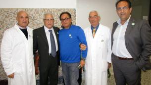 Nella foto da sinistra: Claudio De Santis, Giuseppe Perri,  Giuseppe De Vito,  Rosario Raffa e Francesco Bonacci