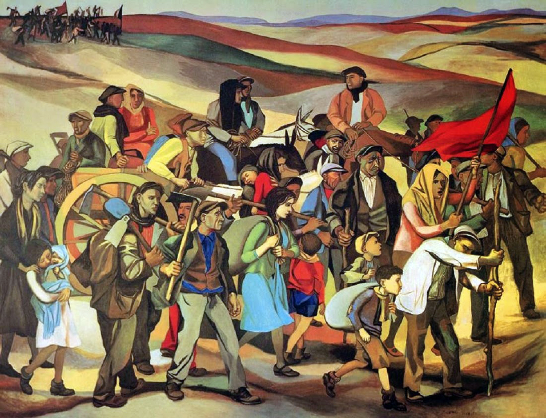 Renato Guttuso: «L'occupazione delle terre incolte in Sicilia»
