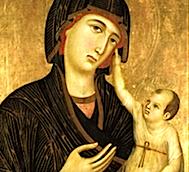 Madonna di Crevole,  Museo dell'Opera della Metropolitana, Siena.