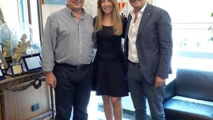 Nella foto, da sinistra: Marziale, Bongarzone e Bruno