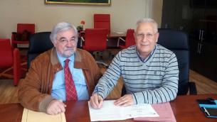 Maurizio Cipolla e Giuseppe Perri