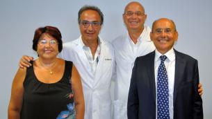 Da sinistra, nella foto: Monardo, Ceravolo, Gallucci e Lucchino
