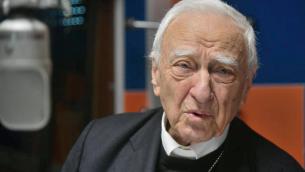 Mons. Luigi Bettazzi, vescovo emerito di Ivrea, già presidente di Pax Christi