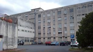 L'ex ospedale di Praia a Mare (Cosenza)