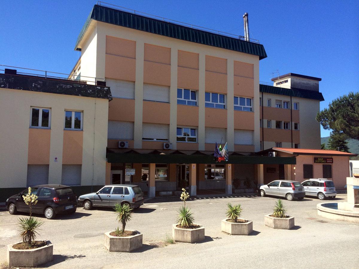 L'ospedale di Soveria Mannelli