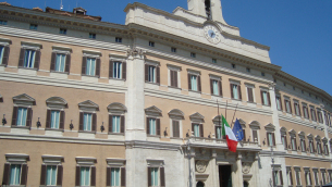 Palazzo Montecitorio, sede della Camera dei deputati