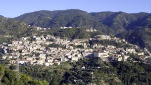 Panorama del Comune di Taverna (Catanzaro)