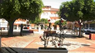 Piazza Municipio a Rizziconi