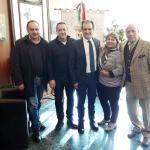 Nella foto, da sinistra: Raso, Costanzo, Bruno, Gigliotti e Chieffallo