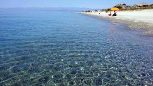 Il mare di Roccella Jonica (Reggio Calabria)