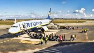 Aeroporto Sant'Anna, tursmo con Ryanair