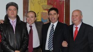 Da sinistra: De Vito, Putame, Pallaria e Amantea