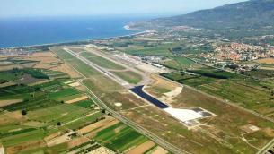 L'aeroporto internazionale di Lamezia Terme
