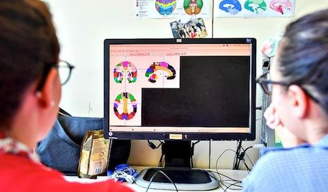 Laboratorio di neurologia dell' Ospedale San Raffaele