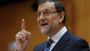 Mariano Rajoy, leader del Partido popular