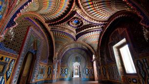 L'interno del castello di Sammezzano