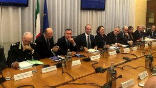 Il ministro Alfano alla Conferenza regionale delle autorità di pubblica sicurezza della Calabria.