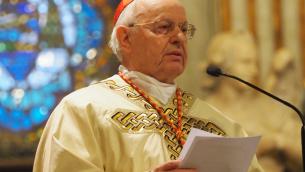 Il cardinale Baldisseri, segretario del Sinodo dei vescovi