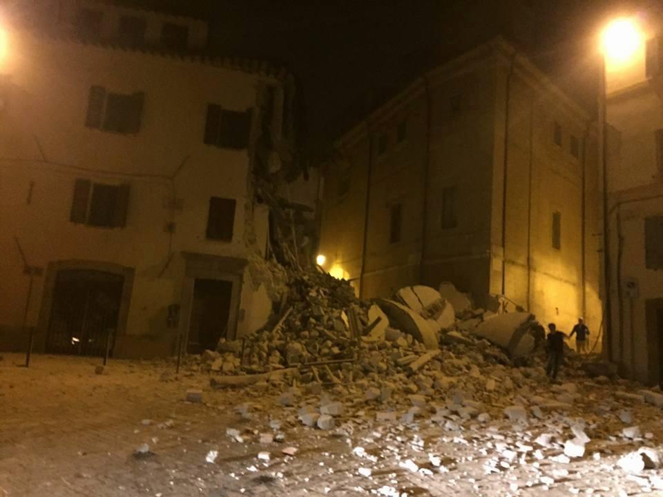 Forte scossa di terremoto scuote il Centro Italia