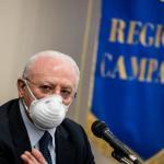 """Campania zona rossa, De Luca: """"Presa in giro, Stato non esiste"""""""