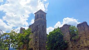 I ruderi della Chiesa di Santa Maria del Carmelo (Foto di Elena Deruvo)